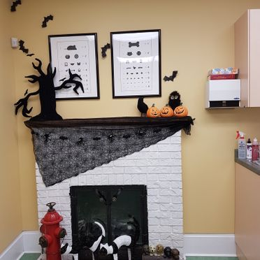 Halloween 2017 Decorations - Fireplace